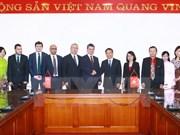 La VNA et l'Anadolu signent un accord d'échange d'informations