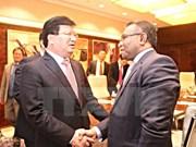 Renforcement des relations avec le Timor-Leste et l'Indonésie