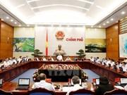 Approbation d'un document sur le statut du travail du gouvernement