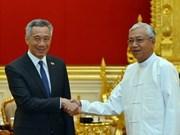 Le Myanmar et Singapour s'accordent sur une exemption de visa