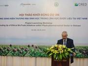 L'UE soutient le développement durable du secteur phytopharmaceutique au Vietnam