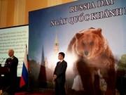 Célébration de la Fête nationale de la Russie à Hanoi