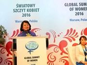 Clôture du 26e Sommet mondial des femmes