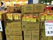 Le riz vietnamien présent sur les rayons des supermarchés singapouriens