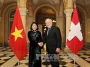 La vice-présidente vietnamienne entame une visite de travail en Suisse