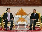 Le président du Vietnam rencontre des dirigeants cambodgiens