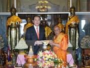 Le président du Vietnam achève sa visite d'Etat au Cambodge