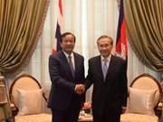 Thaïlande et Cambodge maintiennent leur coopération