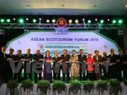 Forum de l'écotourisme de l'ASEAN 2016 au Laos