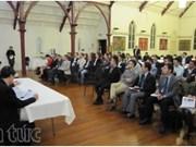 Rencontre entre businessmen Viet kieu en Nouvelle-Zélande