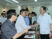 Le chef de l'Etat en visite de travail à Phu Yen