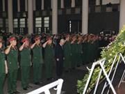 CASA-212 : Cérémonie en mémoire des membres d'équipage décédés en mission