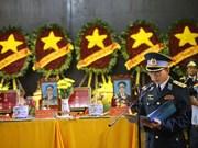 Condoléances laotiennes sur les accidents du SU-30MK2 et du CASA-212