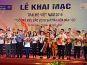 Ouverture du camp d'été des jeunes Viêt kiêu à Hanoi