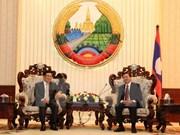 Le vice-PM Pham Binh Minh rencontre des dirigeants laotiens