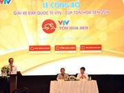 Seize équipes cyclistes à la Coupe VTV-Hoa Sen 2016