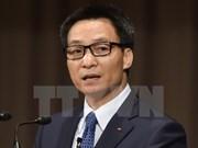 Le vice-Premier ministre Vu Duc Dam à un forum touristique au Myanmar