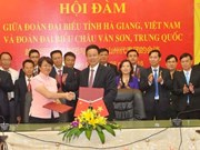 Vietnam-Chine: Intensifier les échanges économiques entre provinces frontalières