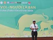 Ouverture de la Semaine de la conservation des éléphants à Quang Nam