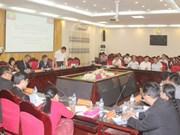 Des officiels birmans se rendent à Ha Nam