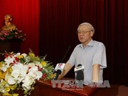 Rencontre entre le Secrétariat du Parti et des cadres dirigeants retraités du Sud
