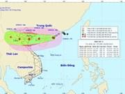Préparatifs à l'approche  du typhon Dianmu