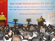 Un ambassadeur exhorte à participer aux chaînes de valeur mondiales