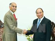 Le PM Nguyên Xuân Phuc reçoit l'ambassadeur indien Harish Parvathaneni