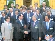 Des dirigeants vietnamiens reçoivent une délégation du Comité économique Japon-Vietnam