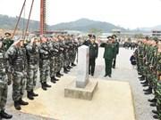 """Les liens entre les deux armées, un """"pilier"""" des relations Vietnam-Chine"""