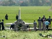 Ecrasement d'un avion d'entraînement militaire à Phu Yen