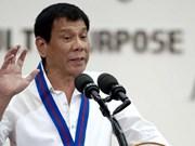 Les négociations doivent se baser sur la sentence arbitrale, selon le président philippin