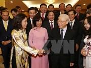 Nguyen Phu Trong rencontre de nouveaux ambassadeurs du Vietnam
