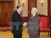 Nguyen Phu Trong reçoit le coordinateur national du Parti du Travail du Mexique
