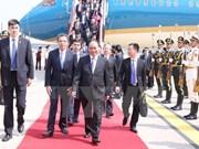 Le PM Nguyen Xuan Phuc est arrivé à Pékin pour une visite officielle en Chine