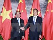 Entretien Nguyen Xuan Phuc et Li Keqiang