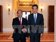 Le Premier ministre rencontre le chef de l'exécutif de Hong Kong