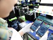 Les exportations de téléphones et d'ordinateurs ont atteint près de 34 milliards de dollars