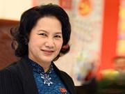 La présidente de l'AN Nguyen Thi Kim Ngan en visite au Laos, Cambodge et Myanmar