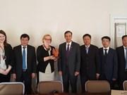 Hanoï stimule la coopération avec des villes de l'Europe du Nord