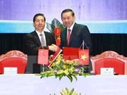 Vietnam-Chine : vers une coopération efficace entre les deux ministères de la Sécurité publique