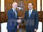 Le président Tran Dai Quang reçoit le président de World Vision International