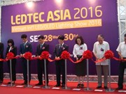 Ouverture de la 5e expo internationale LEDTEC ASIA 2016 à Hanoï