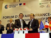 Deux cents entreprises attendues au forum d'affaires France-Vietnam