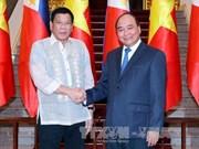 Approfondissement du Partenariat stratégique Vietnam-Philippines