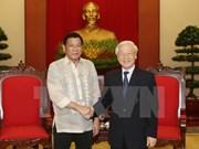 Le Vietnam et les Philippines renforcent leur coopération