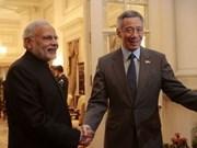 Le Premier ministre singapourien Lee Hsien Loong en visite officielle en Inde