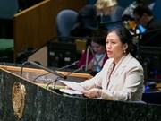 Le Vietnam appelle la communauté internationale à édifier un monde de paix et de sécurité