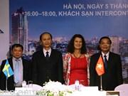 Partage d'expériences Vietnam-Suède en matière d'innovation