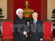 Pour une coopération plus dynamique entre le Vietnam et l'Iran